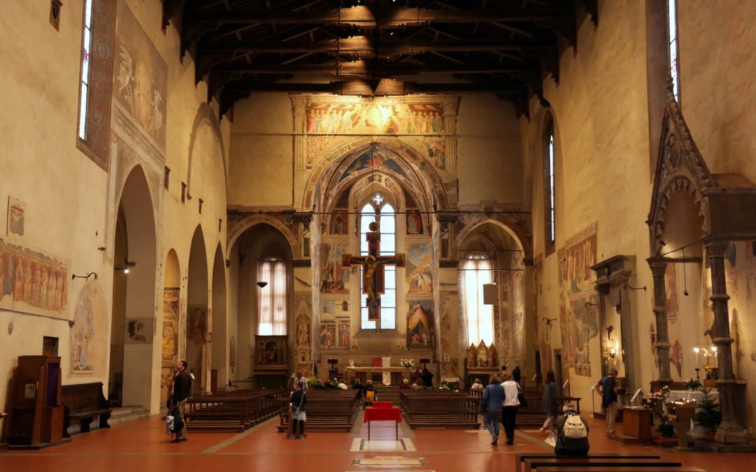 The Basilica of St. Francis – the church of Piero della Francesca